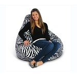 Animal Print Extra Large Pure Bead Bean Bag 30-1051-595