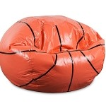 Basketball Junior Sports Vinyl Pure Bead Bean Bag 30-3001-853