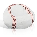 Baseball Junior Sports Vinyl Pure Bead Bean Bag 30-3001-854