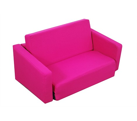 "Juvenile Poly Cotton Sofa Sleeper - Twin 36"" Hot Pink 32-4200-100"