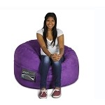 Mod Pod Junior 3' Soft Suede Purple 32-7014-1009
