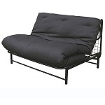 Black E-Frame Full Size Combo Box - Frame & Mattress 55-3544-050