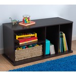 Storage Unit w Shelves - Espresso