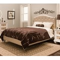 Paris Youth Upholstered Bed Pearll