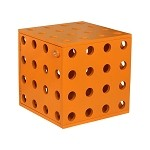 Paul Frank® Stackable Cube Orange