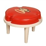 Paul Frank® Stackable Ottoman Red