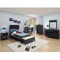 Broadway Bedroom Set Black