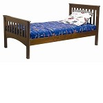 Mission Twin Bed Cherry
