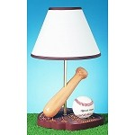 Cal Lighting 60W Baseball Lamp