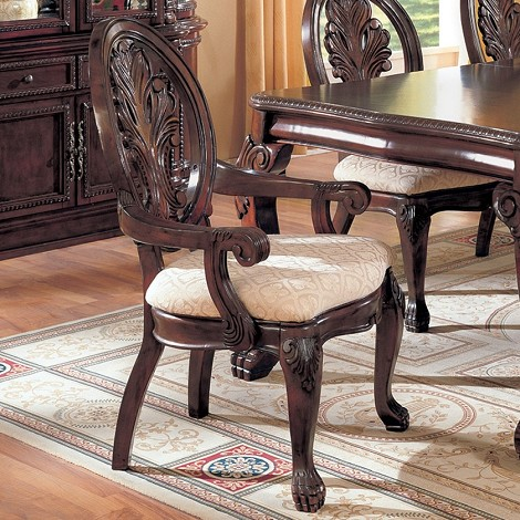 101033 Tabitha Traditional Arm Chair (set of 2)