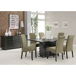 102061 Stanton Contemporary Dining Set GREEN