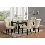 102260 Carter Dining Set Cream