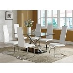 102320 Modern Dining Set White