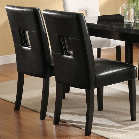 103612 Newbridge Dining Chair Black (set of 2)
