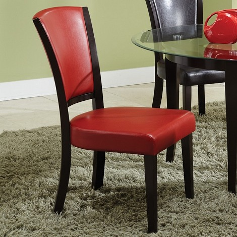 103682 Dining Chair Red (set of 2)