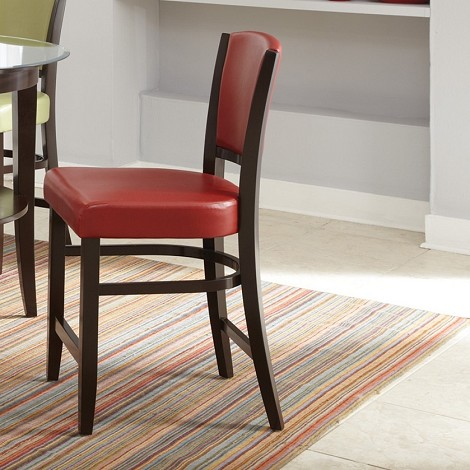 103689 Counter Height Stool Red (set of 2)