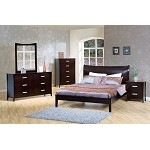 200300q Stuart Contemporary Platform Bedroom Set