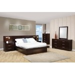 200711 Jessica Contemporary Platform Bedroom Set