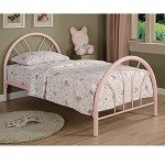2389B Coaster Twin Bed - Pink
