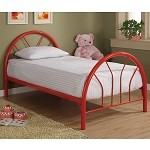 2389B Coaster Twin Bed - Red