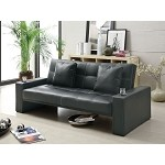 300125 Futon Styled Sofa Sleeper