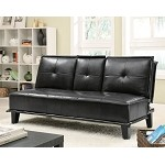 300138 Sofa Bed Black