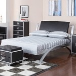 Leclair Black And Metal Youth Bed