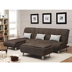 300276 Transitional Styled Sofa Sleeper Futon Bed