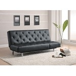 300304 Black Sofa Bed