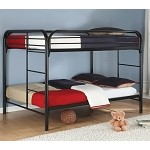 Youth Full over Full Bunk Bed in Black