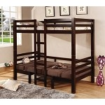 460263 Bunks Twin Over Twin Convertible Loft Bed