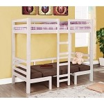 460273 Bunks Twin Over Twin Convertible Loft Bed