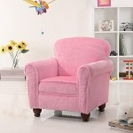 Plush Chair In Fuzzy Pink Fabric By Coaster - 460405