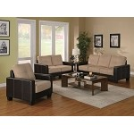 500100 Regatta Contemporary 3-Piece Living Room Set