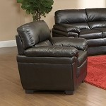 502953 Fenmore Casual Split Back Leather-Like Armchair