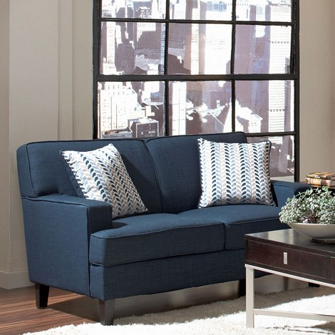504322 Finley Transitional Styled Loveseat