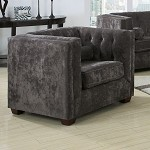 504493 Alexis Transitional Chesterfield Armchair