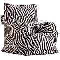 Big Joe Cuddle Chair, Zebra