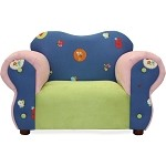 Fantasy Furniture Comfy Chair Flowers