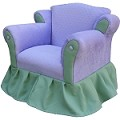Fantasy Furniture Princess Chair Lavender / Green