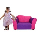 Fantasy Furniture Wave Chair Pink / Purple Microsuede