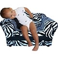 Fantasy Furniture Wave Chair Zebra