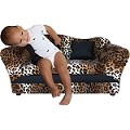 Fantasy Furniture Wave Sofa Leopard