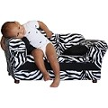 Fantasy Furniture Wave Sofa Zebra