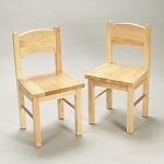 1408N  A Pair of Rectangle Chairs Natural