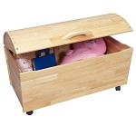 1430N  Treasure Chest  - Mega Storage on Casters  - Natural