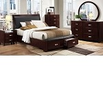 1737NC-1 Lyric Bedroom Set Espresso