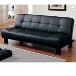 4791 Fruitvale Convertible Sofa Bed Black