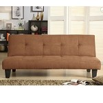 4806brwn Albert Elegant Sofa Bed Brown