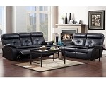9604blk Wallace Sofa Set